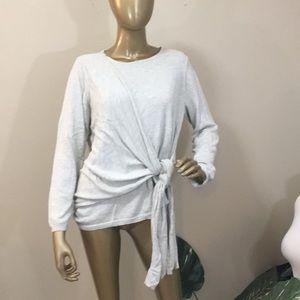 A NEW DAY Grey wrap sweater, XXL
